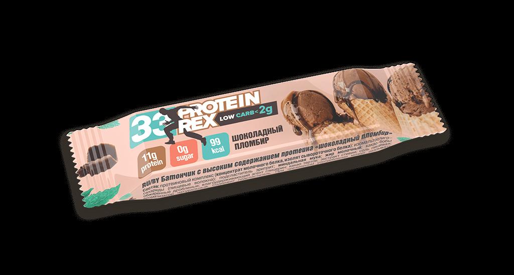 Купить Батончик с высоким содержанием протеина «шоколадный пломбир», 35 гр., 0,035 кг/Шоколадный пломбир