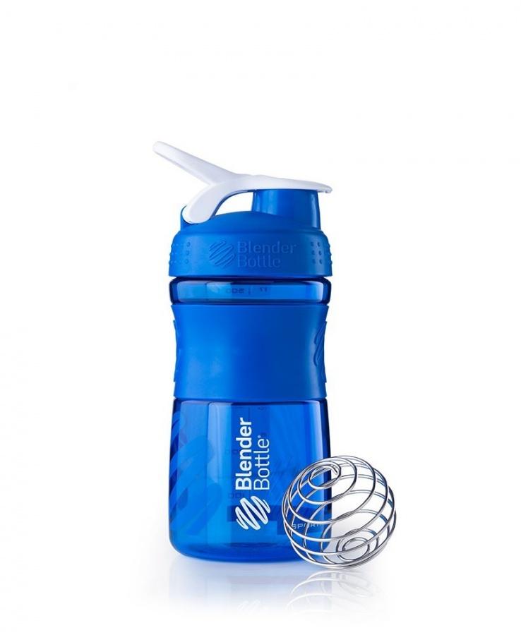 Купить Бутылка - шейкер SportMixer 500 ml, Цвет синий