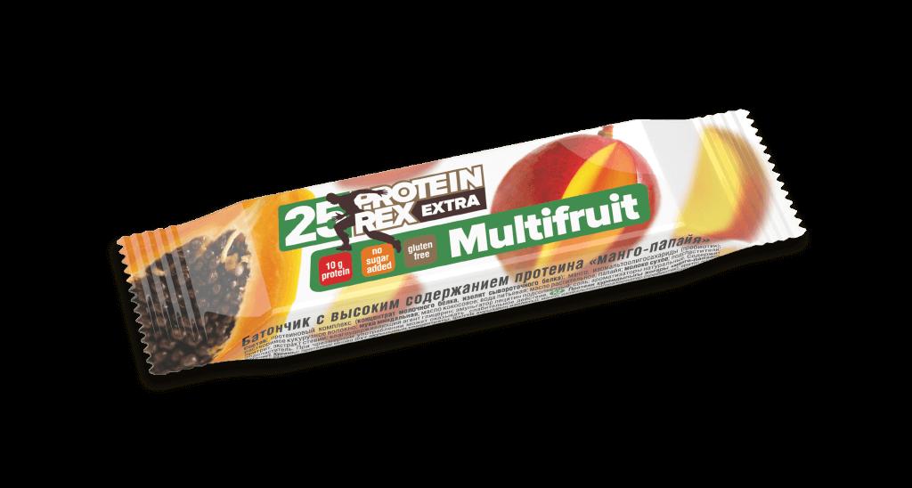 Батончик с высоким содержанием протеина «манго-папайя», 40 гр., 0,04 кг/Манго-папайя  - купить со скидкой