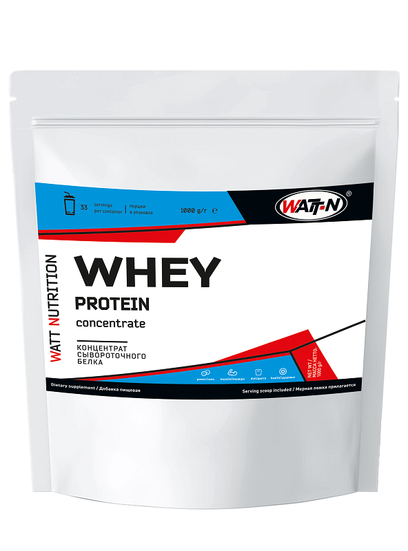 Купить WATT NUTRITION WHEY PROTEIN CONCENTRATE 80 / КСБ 80, 0.5 кг/Натуральный