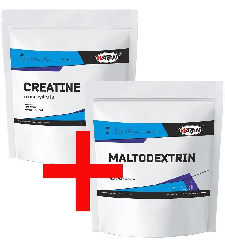 Купить Креатин и мальтодекстрин, 1.5 кг/Натуральный