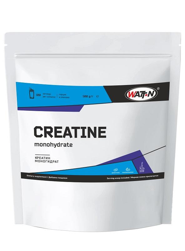 Купить Креатин моногидрат , 80 меш - крупный, 0.5 кг/Натуральный