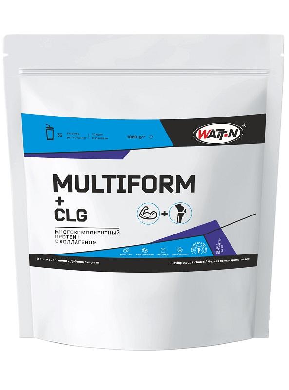 Купить MULTIFORM - многокомпонентный протеин с коллагеном (CLG), 1 кг/Банан