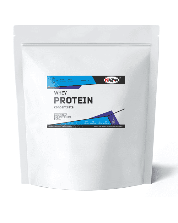 Купить WHEY PROTEIN CONCENTRATE/Концентрат сывороточного белка, порционный в пакетах по 30 грамм