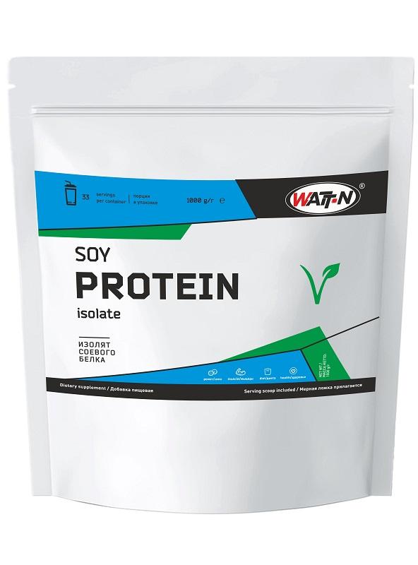 Купить Watt Nutrition Изолят соевого белка , 1 кг/Натуральный