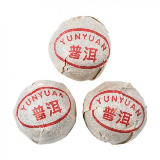 Купить Чёрный Шу Пуэр Мини То Ча, Юн Юэн 2012 г. 1 шт. - 5 гр.