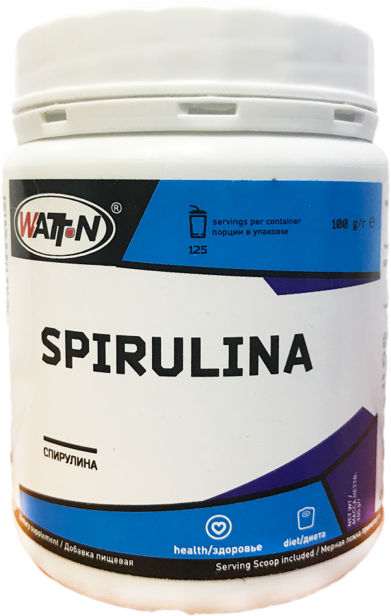 Купить Спирулина. в банке, 0.1 кг/Натуральный
