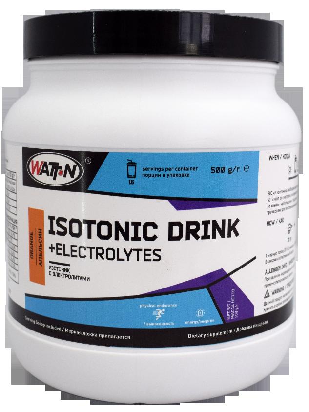 Купить Изотоник с электролитами - ISOTONIC DRINK + ELECTROLYTES