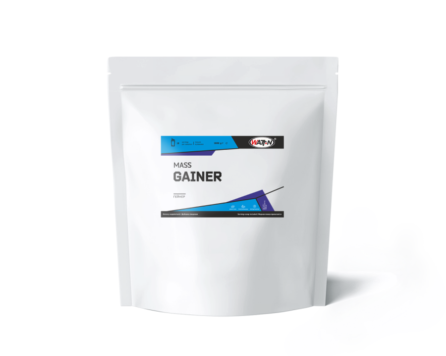 Купить Гейнер со вкусом клубники, 1 кг/Клубника