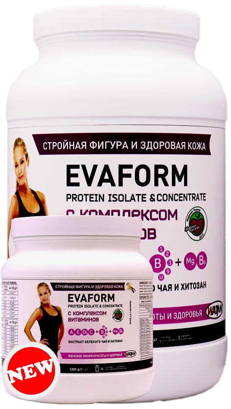 Купить EVAFORM - комплекс для девушек, 0.5 кг/Ваниль