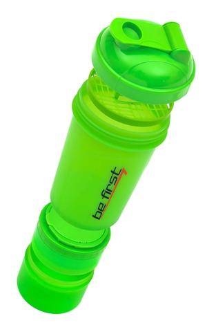 Купить Шейкер BeFirst на 500 мл 3 в 1, зелёный , артикул TS1352